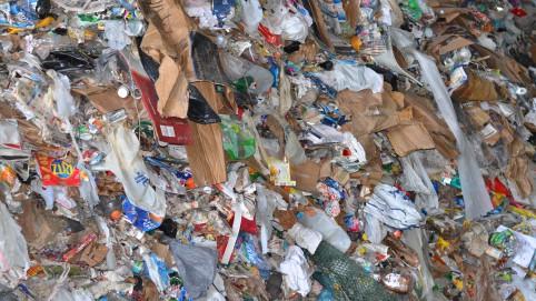 Trash pile
