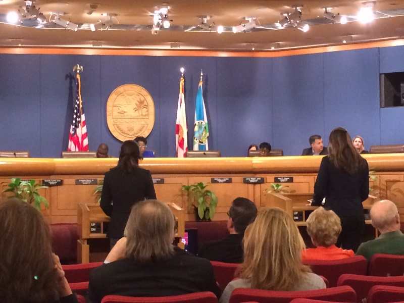 Environmental Educators Successfully Unite to Urge County