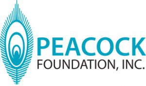 Peacock Foundation Logo Final 1C B