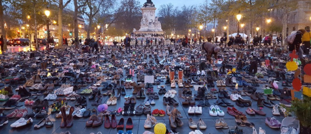 shoes at COP21