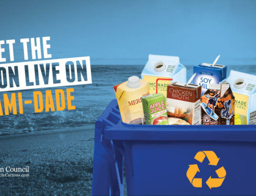 Recycle Your Cartons, Miami-Dade County!