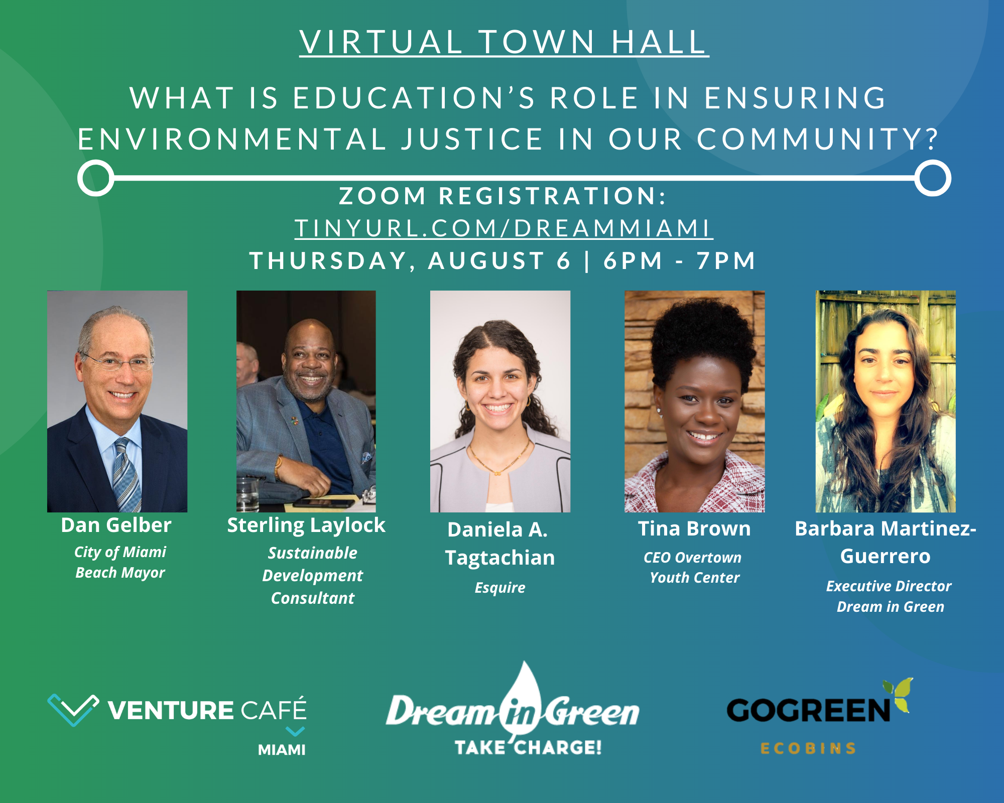 Virtual Town Hall: Education's Role in Environmental Justice