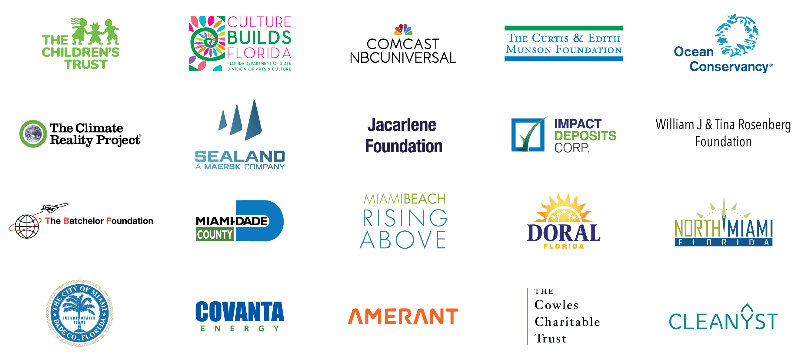 Thanking our 2021 Sponsors